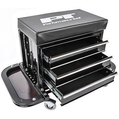Mechanics Creeper Tool Box Padded Seat Garage Stool Chest Storage JEGS W85025 #Motors #Automotive #Tools #Supplies #W85025