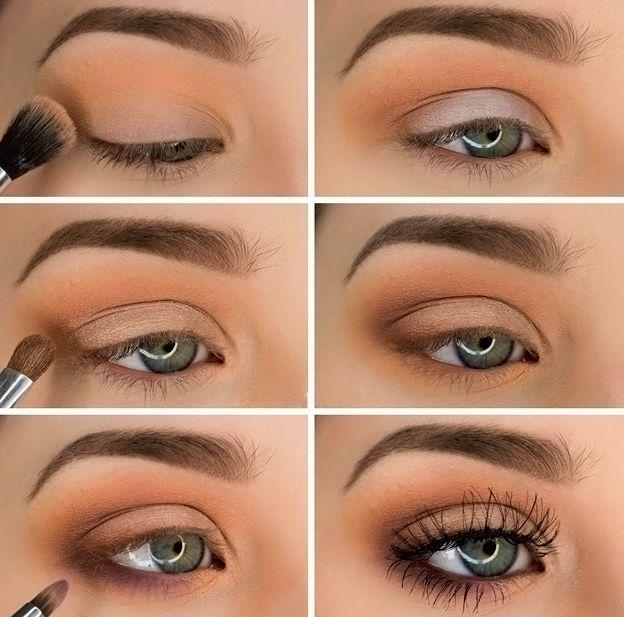 Красивый макияж как сделать пошагово