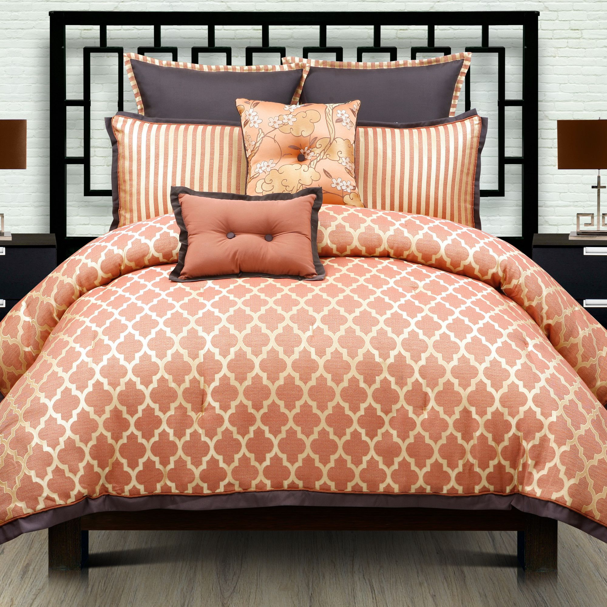decoration orange latest for bed comforters queen comforter king camo set