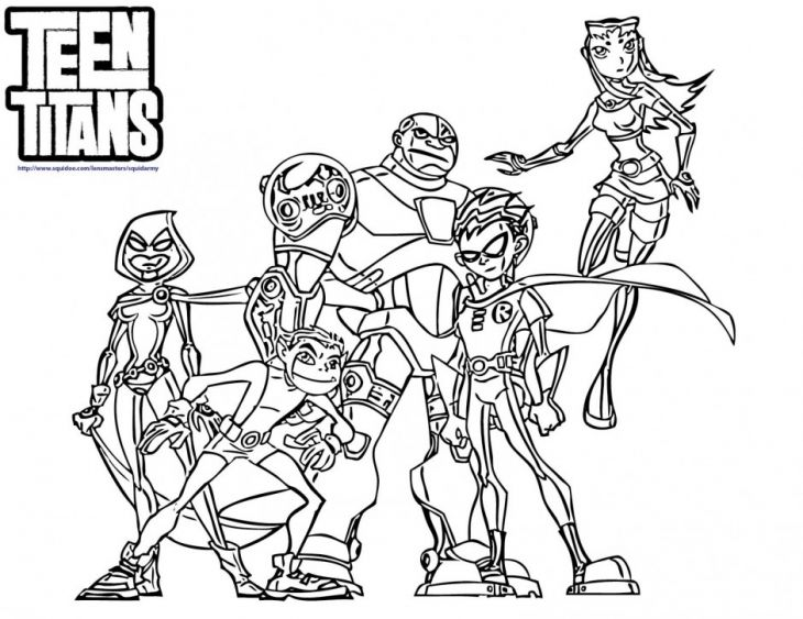 teen titans coloring page superheroes coloring pages pinterest