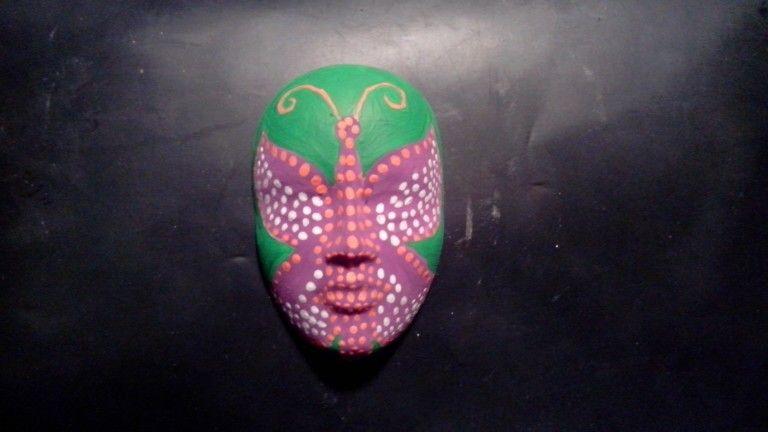 Peinture sur masque by Sarah