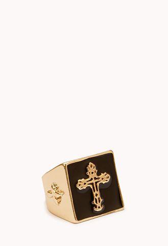 Damask Cross Ring   FOREVER21 - 1000051692