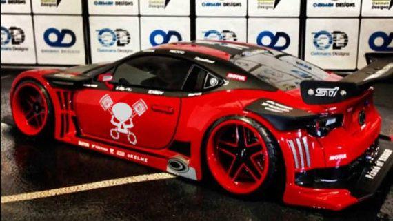 Skull Pistons Japanese Domestic Market Themed Die Cut Vinyl