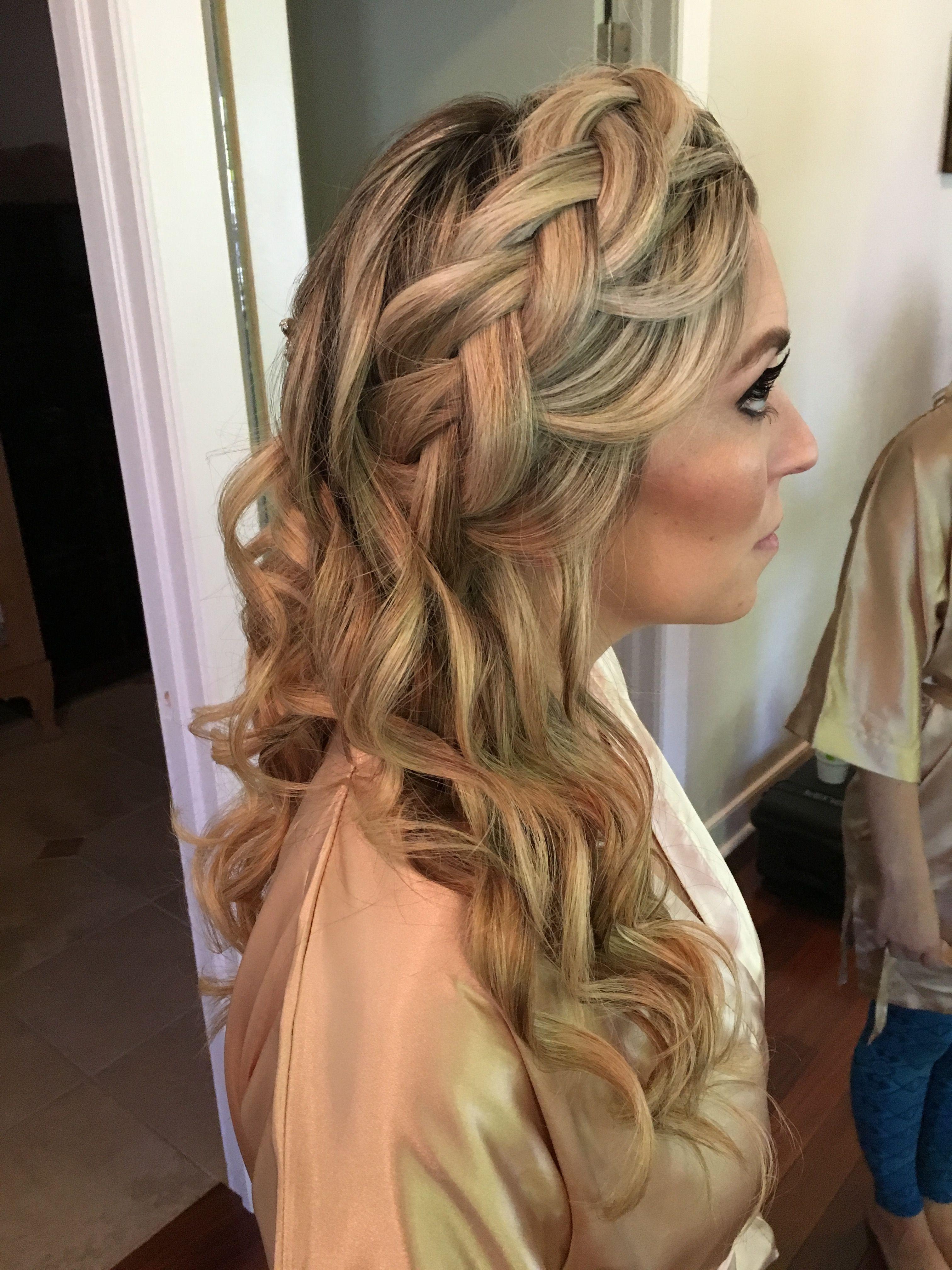 Wedding hair braids for wedding hair braids and curls formal hair