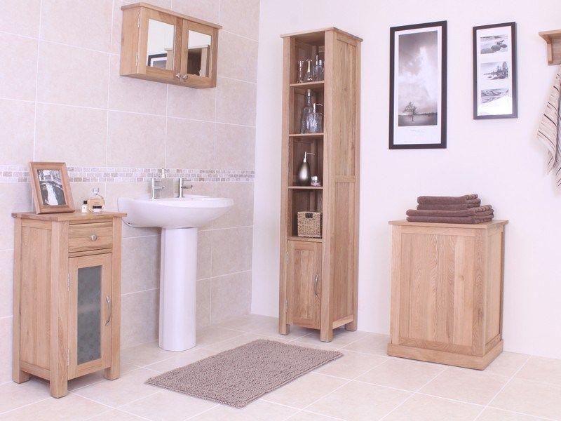 Narrow Floor Standing Bathroom Home Design Ideas
