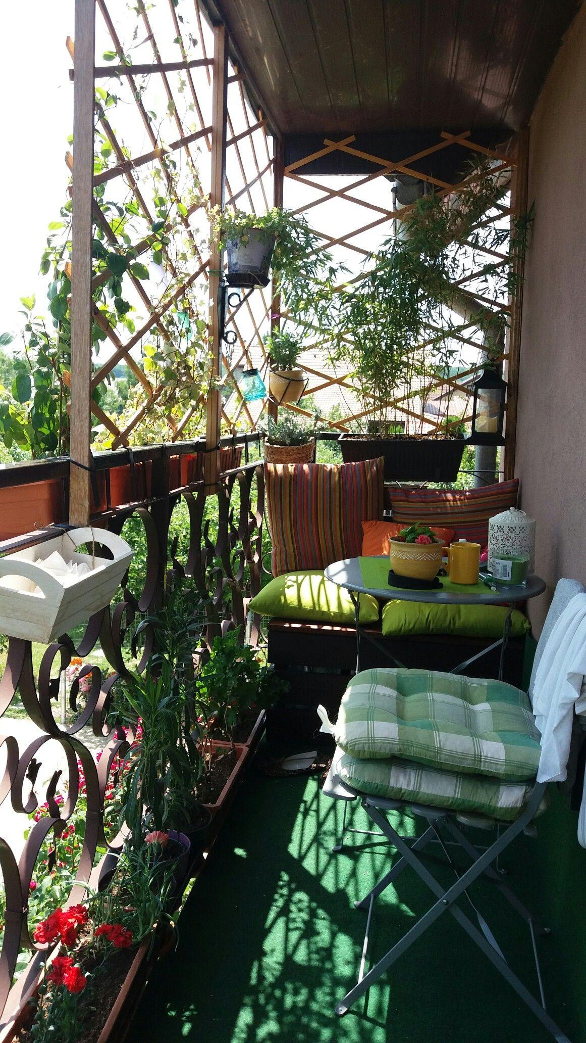 Small Balcony Ideas | Balcony decor, Apartment garden ...