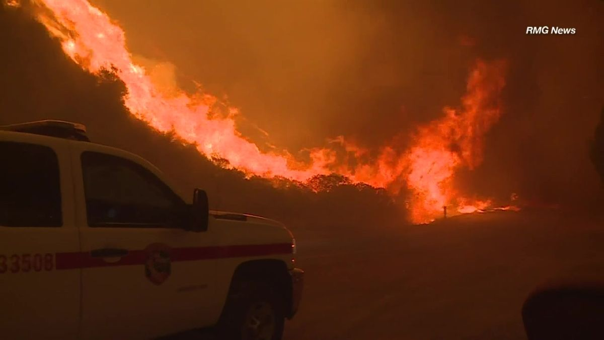 10,000 Homes Evacuated Due to 'Almost Unprecedented