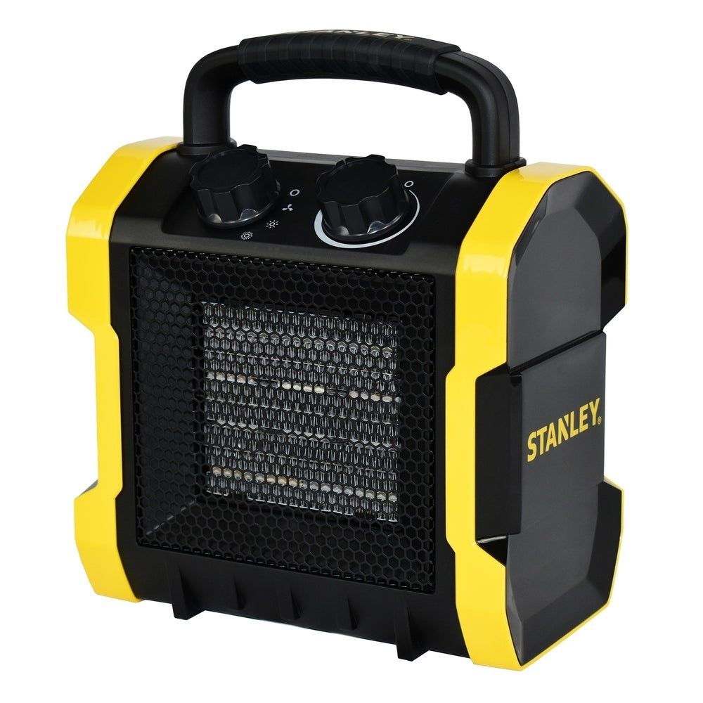 Stanley Fast Utility Electric Space Heater W Thermostat Yellow Plastic In 2020 Electric Fan Portable Heater