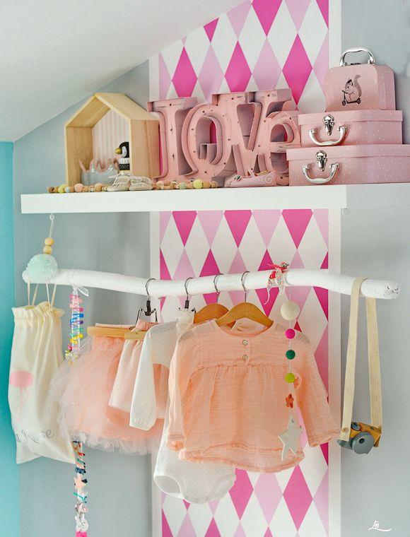La chambre bébé de Lila Rose Kids rooms, Kids s and Room interior