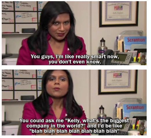 Kelly Kapoor Moments The Office Senior Quotes The Office Show Office Jokes