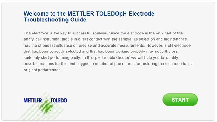 pH Electrode Troubleshooting Guide