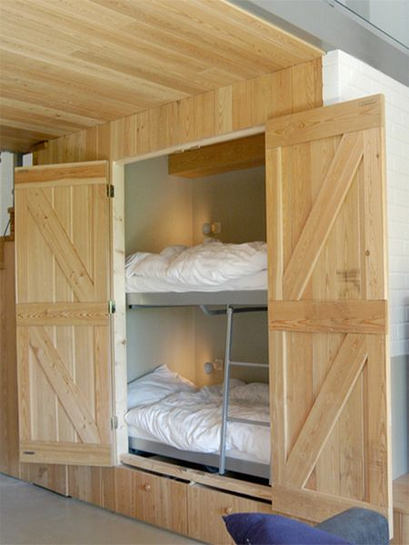 Under Stairs Bunk Beds For Guests Or Small Shared Bedrooms