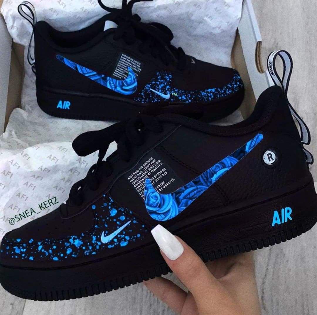 Nike Air Force 1 '07 LV8 Utility Trainers Size Uk 8 Depop