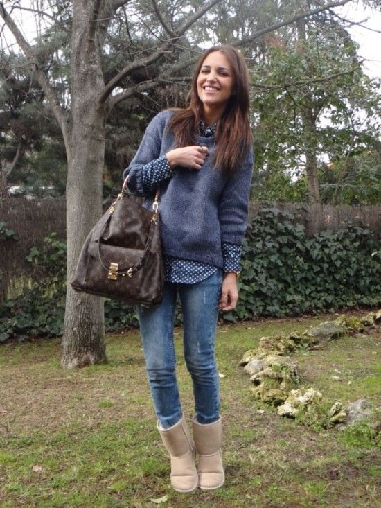 Simple & Comfortable Winter Outfit