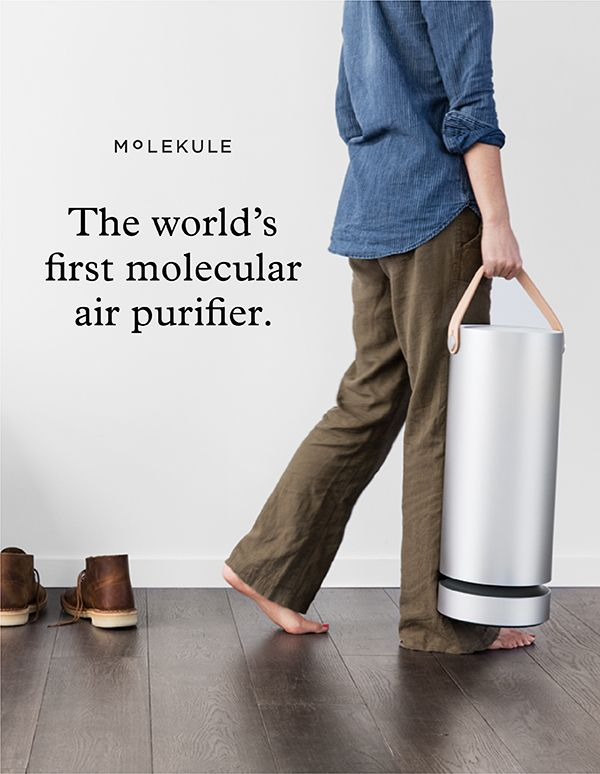 Molekule Completely Destroys Airborne Allergens Mold Dust Bacteria Viruses And Gaseous Chemicals And Makes The Air Purifier Portable Air Purifier Purifier
