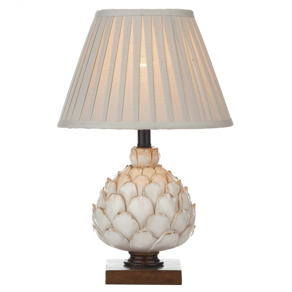 Dar lighting layer small artichoke table lamp with pleated shade dar lighting layer small artichoke table lamp with pleated shade lay4133x lighting from aloadofball Images
