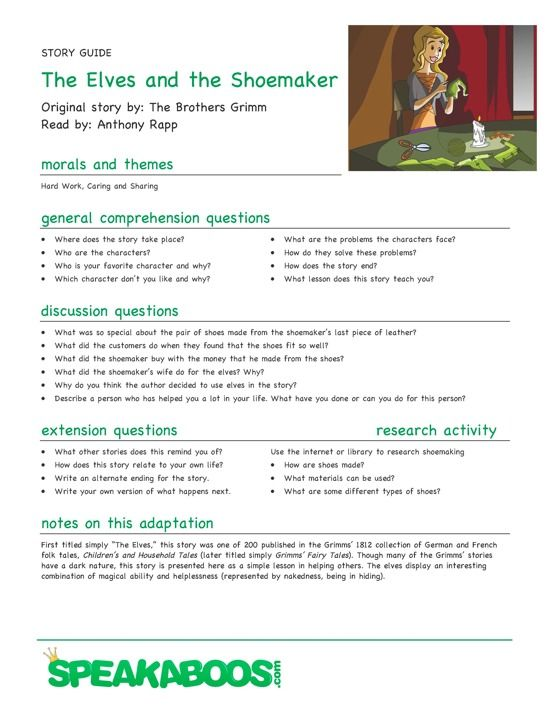 Kindergarten reading comprehension lesson plan