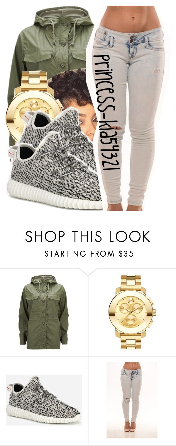 """*"" by princess-kia54321 ❤ liked on Polyvore featuring Current/Elliott, Movado, adidas Originals, women's clothing, women's fashion, women, female, woman, misses and juniors"