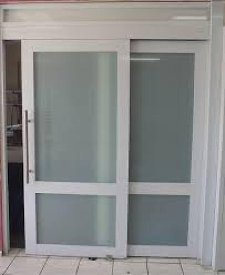 Resultado de imagen para puertas de aluminio corredizas for Puertas interiores de aluminio y cristal