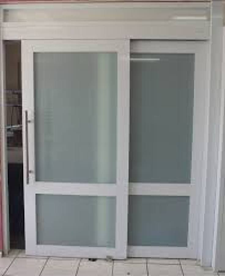 Resultado de imagen para puertas de aluminio corredizas for Puertas interiores modernas de aluminio