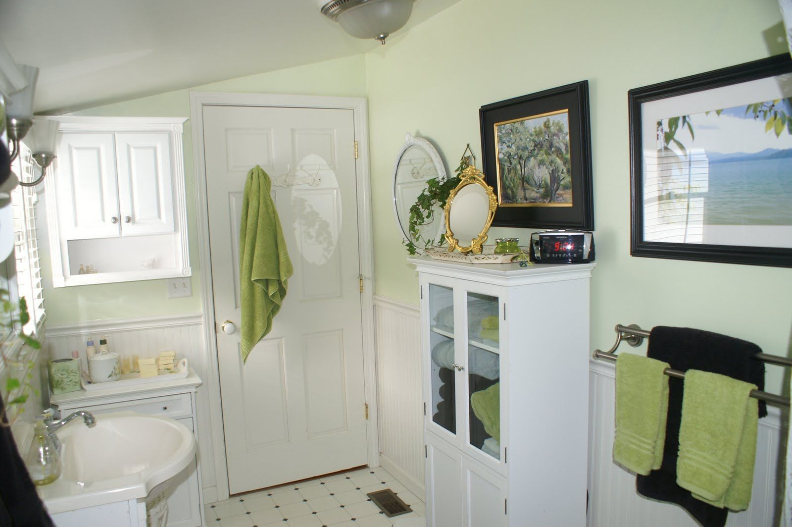 1000+ images about bathroom decor on pinterest | light green walls