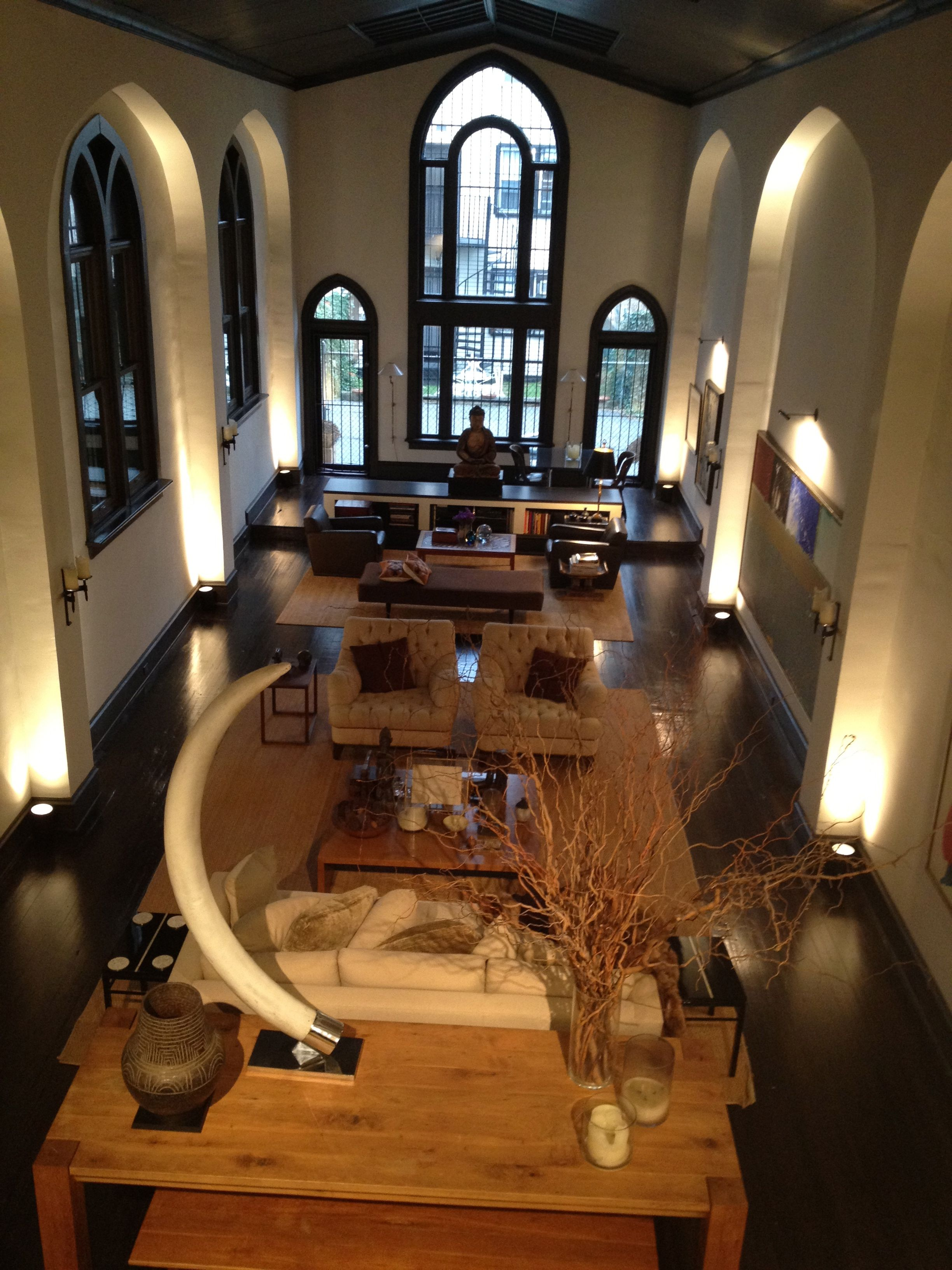 Nyc Apartment In Converted Church In Harlem Buildings