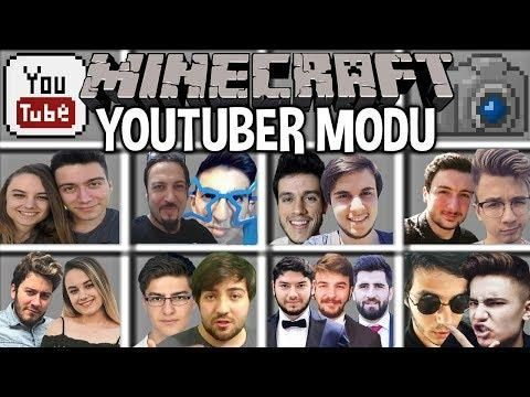 Minecraft Youtuber Modu Bugraak Enes Batur Minecraft Mods Minecraft Youtube