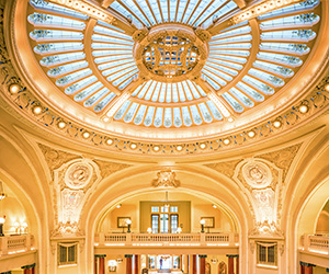 Top 25 Most Magnificent Ceilings And Domes At Historic Hotels Of America Historic Hotels Worldwide Historic Hotels Hotel Spa Hotel