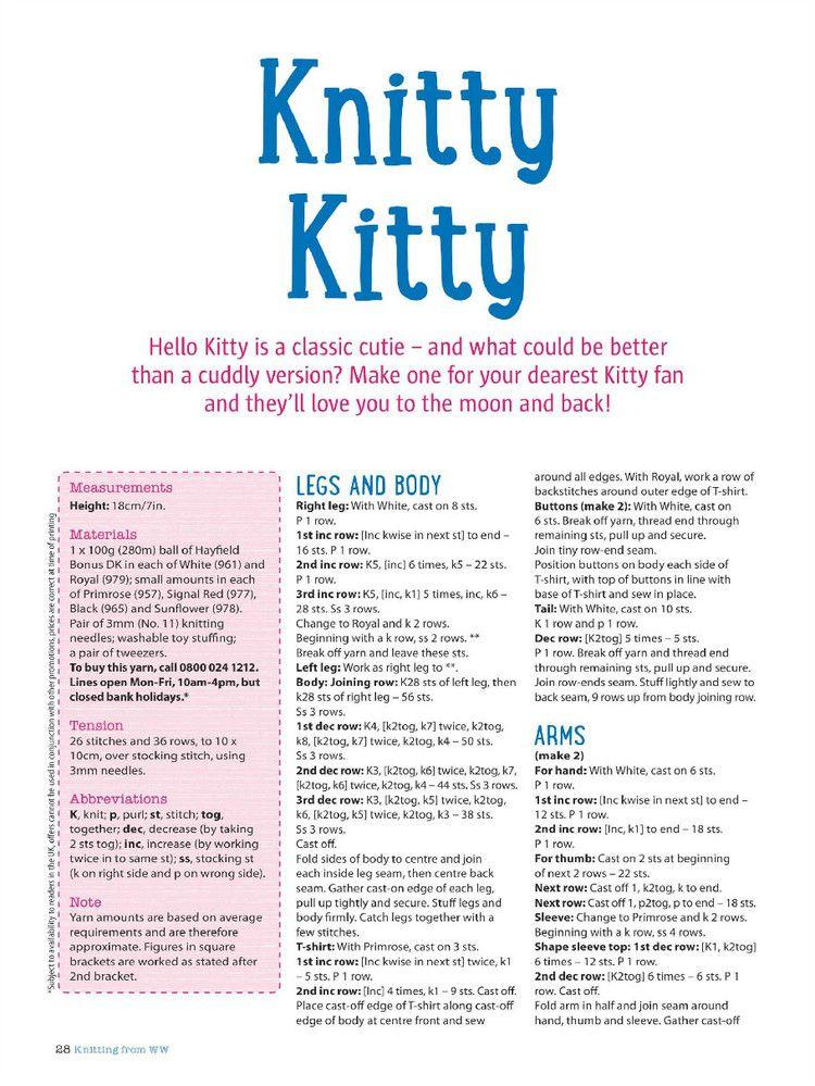 Womans Weekly Knitting Crochet April 2015 - 轻描淡写 - 轻描淡写 ...