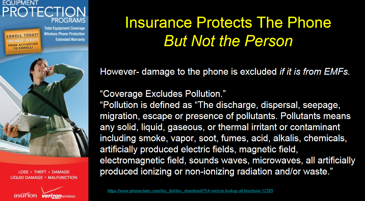 Verizon Phone Insurance Exclusion of Pollution related