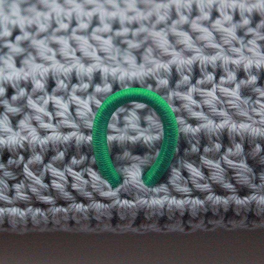 Opskrift på hæklet etui til hæklenåle (Clover) | Lutter Idyl