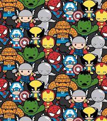 Resultado de imagen de Superheroes Kawaii