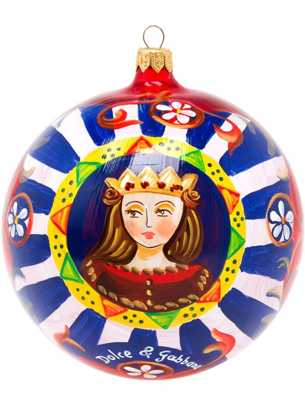 Painted Glass Bauble - Red Dolce & Gabbana 8QS6pzC2