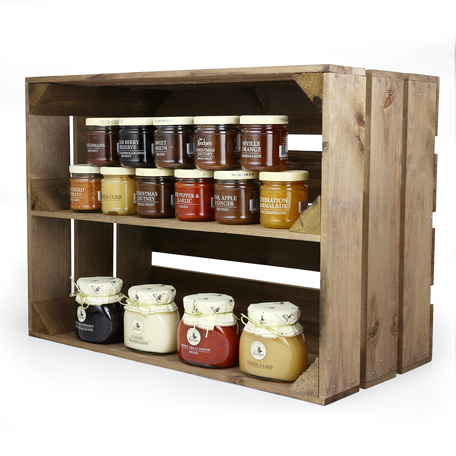 Our Standard Large Rustic Crate Now Comes With A Shelf