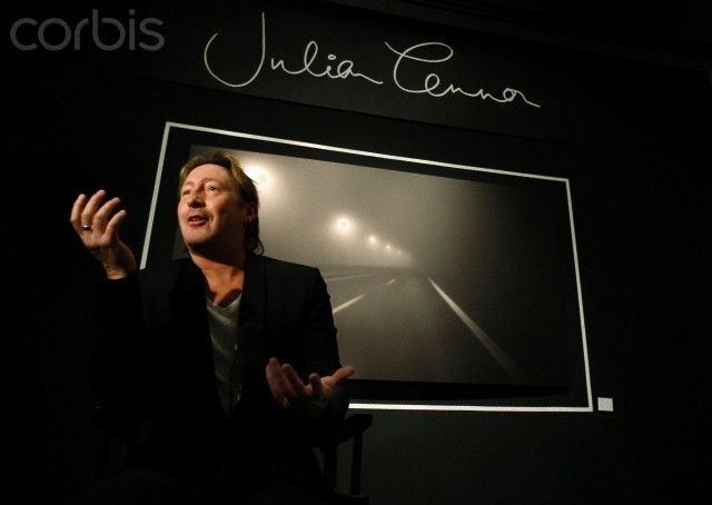 Musician and songwriter Lennon talks about his work at the preview of Timeless in Miami