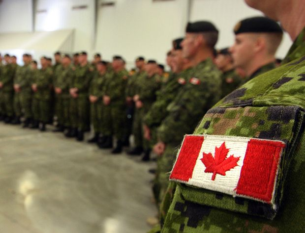 Canadian Forces Mean Business Canadian Forces Canadian Soldiers Canadian Military