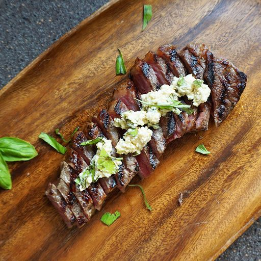 European strip steak recipe