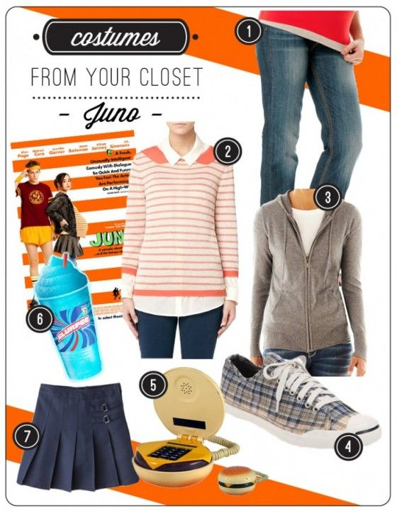 Last minute #Halloween Costumes from Your Closet Juno Move - halloween costume ideas from your closet