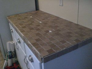 Tiling Laminate Countertops Part One Laminate Countertops Diy