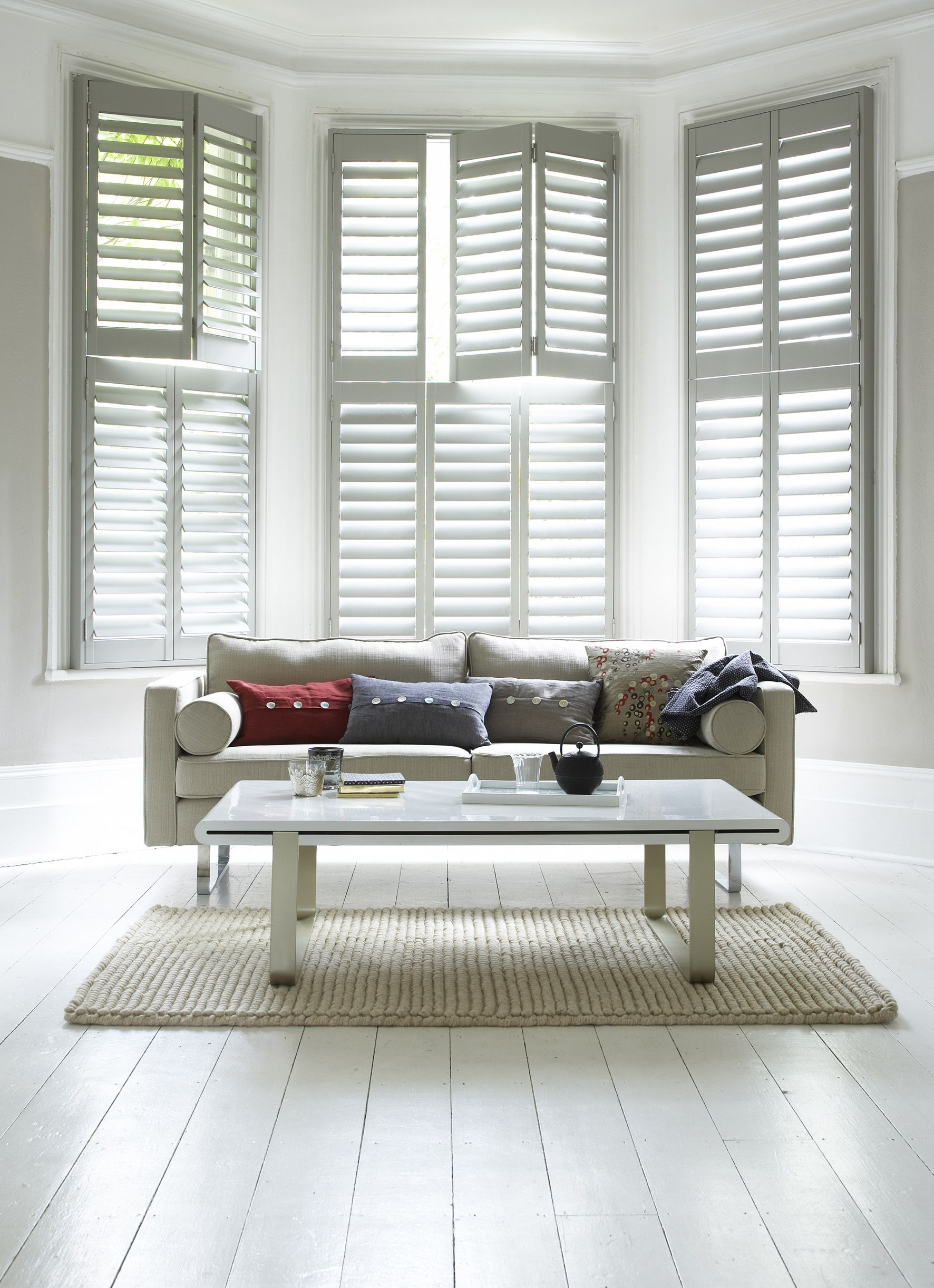 Best 25 contemporary interior shutters ideas on pinterest - Interior vinyl shutters for windows ...