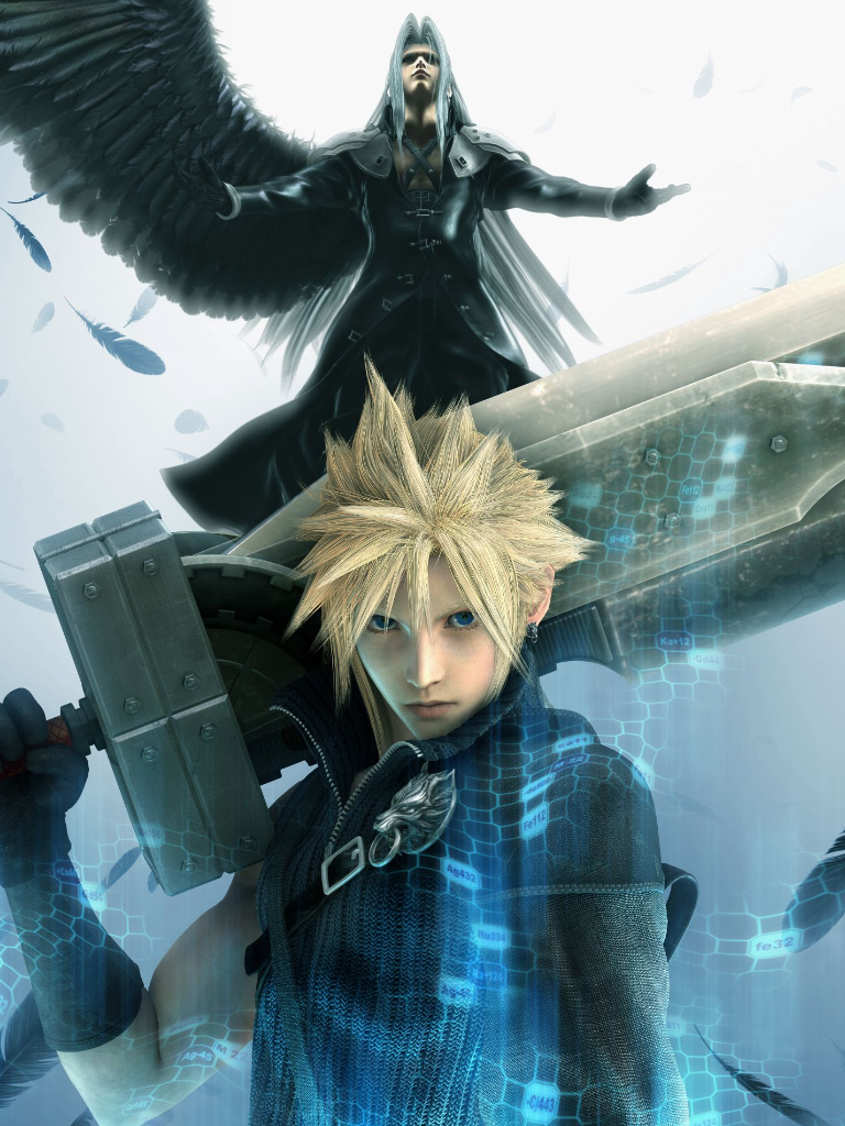Resultado de imagen para pelicula anime Final Fantasy VII: Advent Children