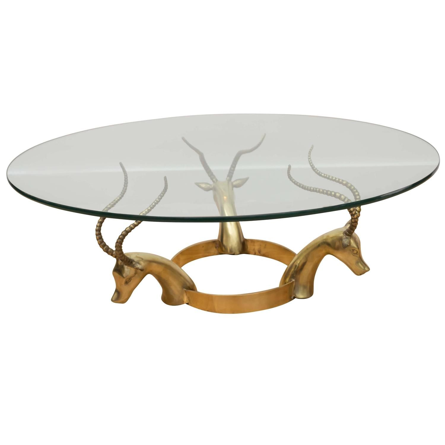 Brass Gazelle Cocktail Table From A Unique Collection Of Antique And Modern Coffee And Cocktail Tables At Https Www 1std Coffee Table Table Table Furniture [ 1500 x 1500 Pixel ]
