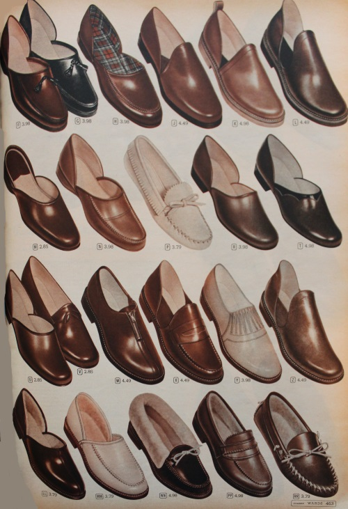 All About Mens 1950s Shoes Styles in
