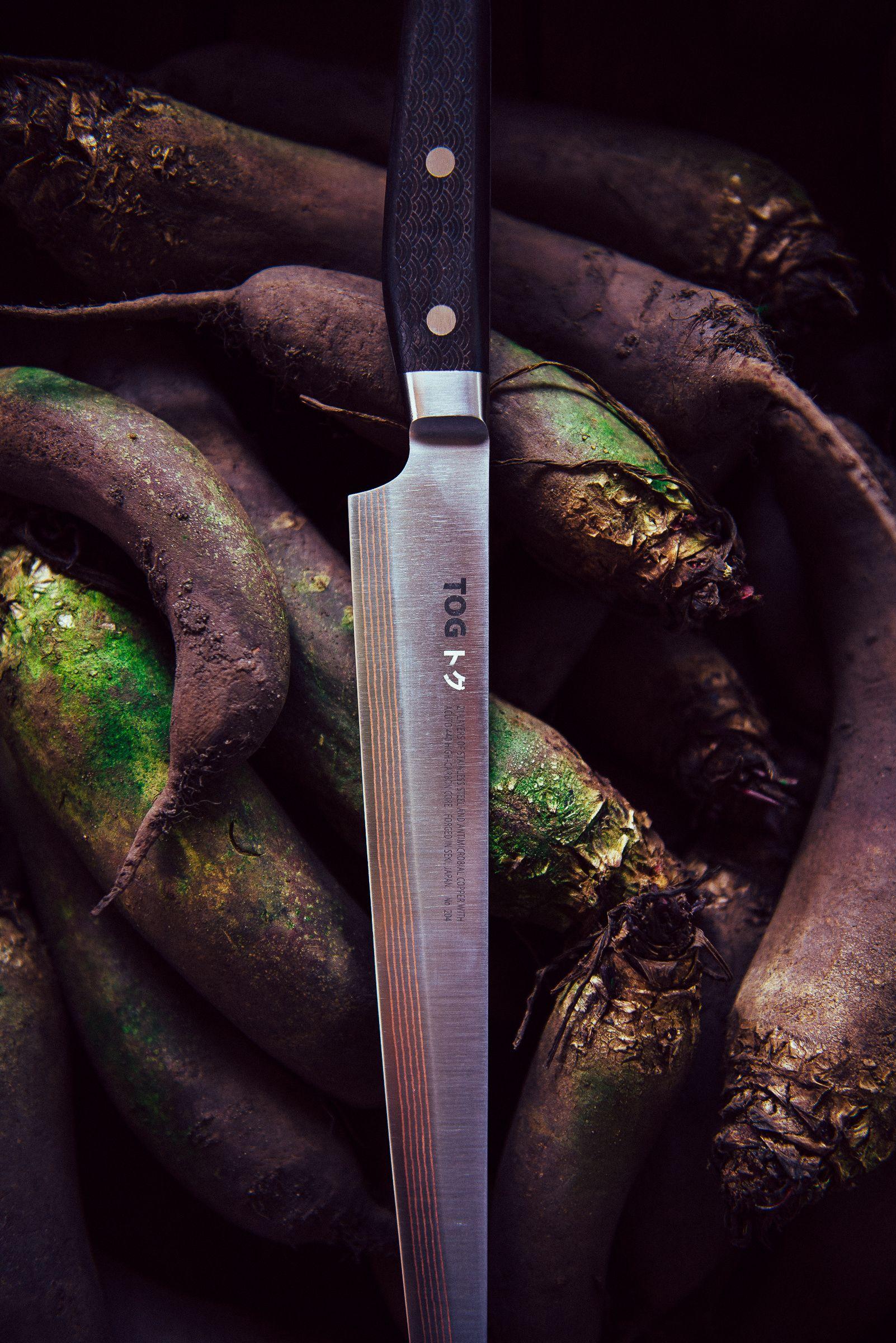 TOG 'SUJIHIKI' Kitchen Knife with African Blackwood handle ...