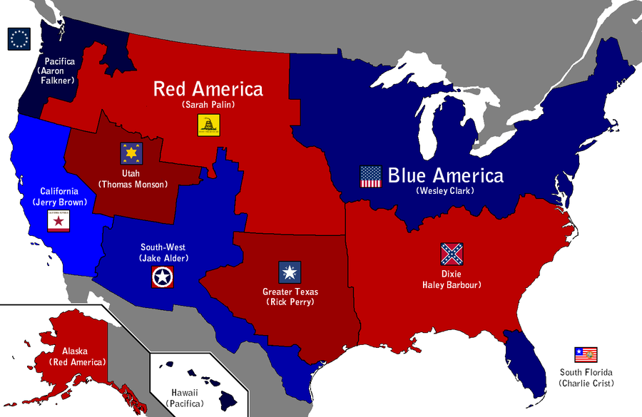 These States Divided By Ynot1989 Alt His Maps And Flags