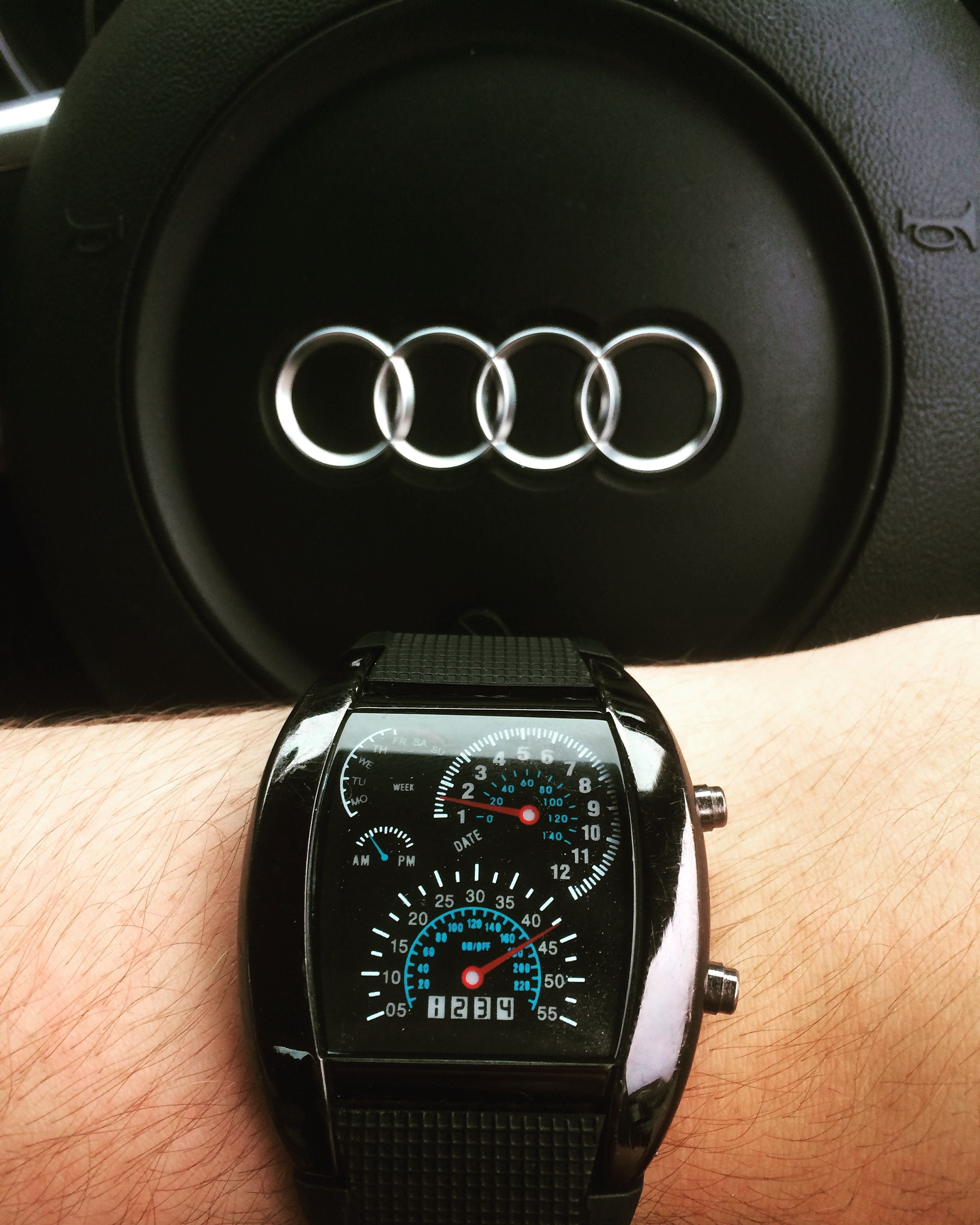 Audi TT With Speedometer Watch Audiwatches Luxury Pinterest - Audi watch