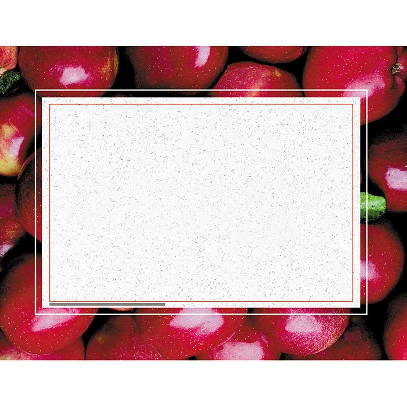 6 PK) APPLES CERTIFICATE BORDER/ | Products | Certificate