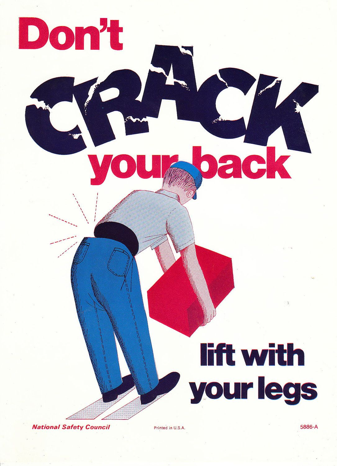 Nsc Stock Quote Inspiration Nsc Don't Crack Your Back  Design Posters  Pinterest Design Inspiration