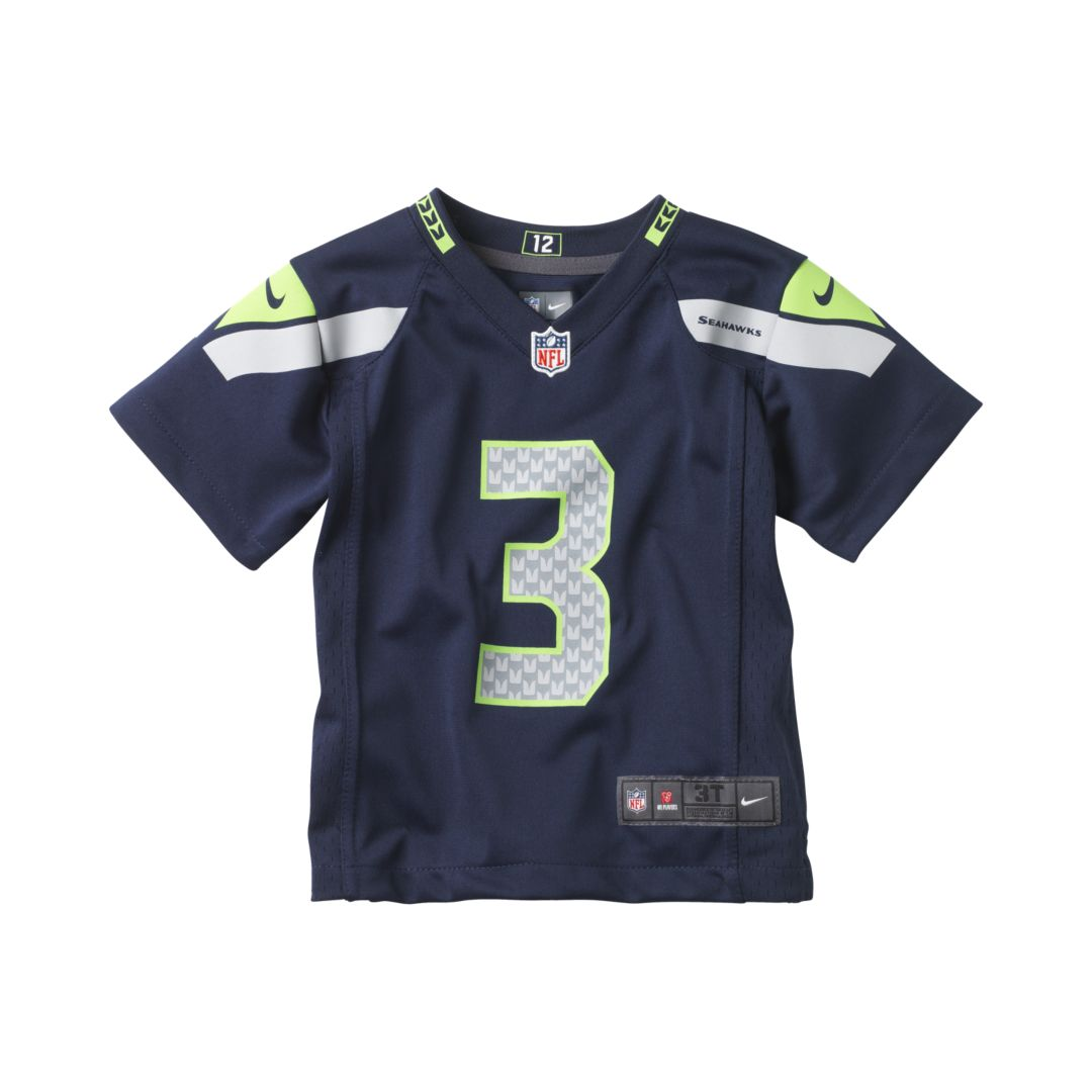 new products 77001 e2fe5 NFL Seattle Seahawks (Russell Wilson) Toddler Kids' Football ...