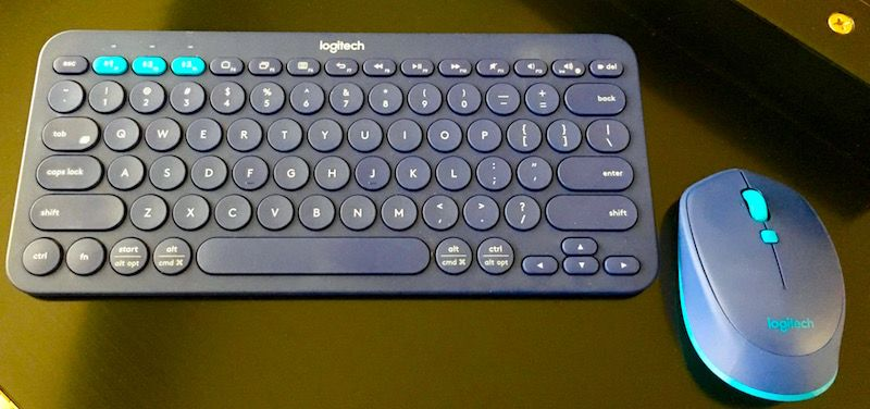 Logitech K380 Multi-Device Bluetooth Keyboard and M535